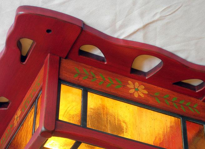 Monterey Ceiling Fixture Detail