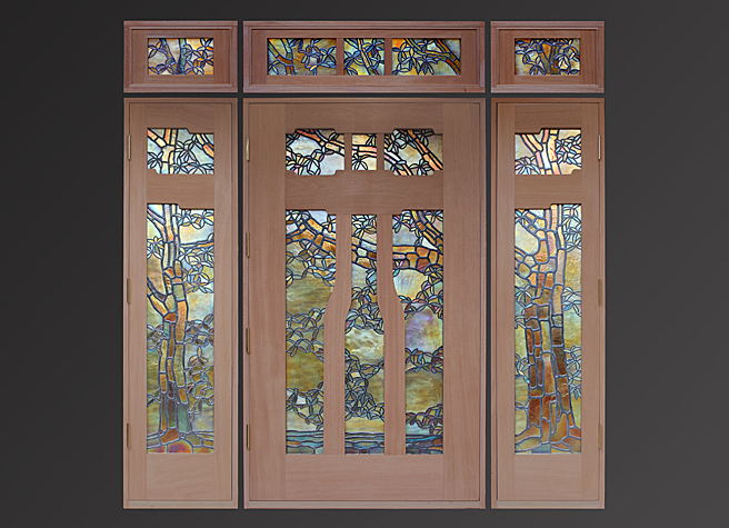 Seattle Entry Door