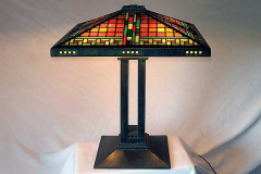 Prairie Leaded Glass Table Lamp