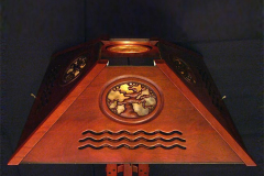Oaktree Floor Lamp Detail