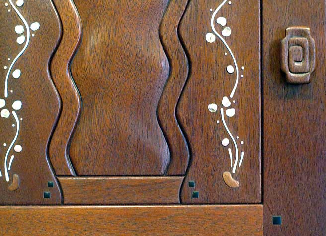 Blacker Sideboard Detail