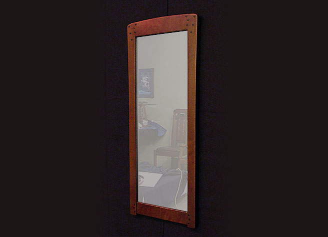 Blacker Mirror and Frame