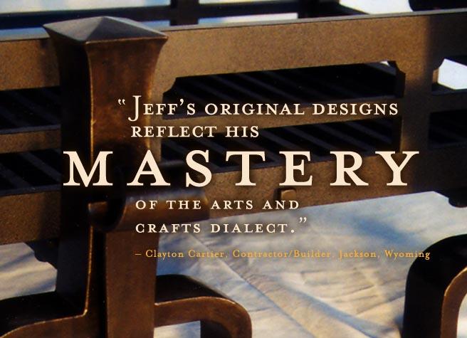 jeff grainger studio design metalwork