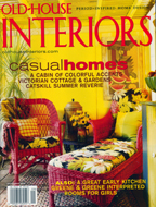 Old House Interiors Cover
