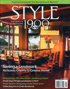 Style 1900 arts and crafts magazine Cover