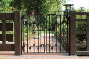 wrought iron gates by jeff grainger