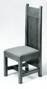 frank lloyd wright prairie style dining chair