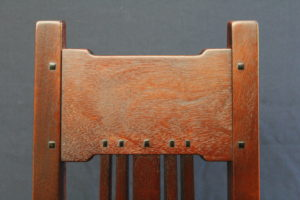 Bolton House dining chair detail by Jeff Grainger