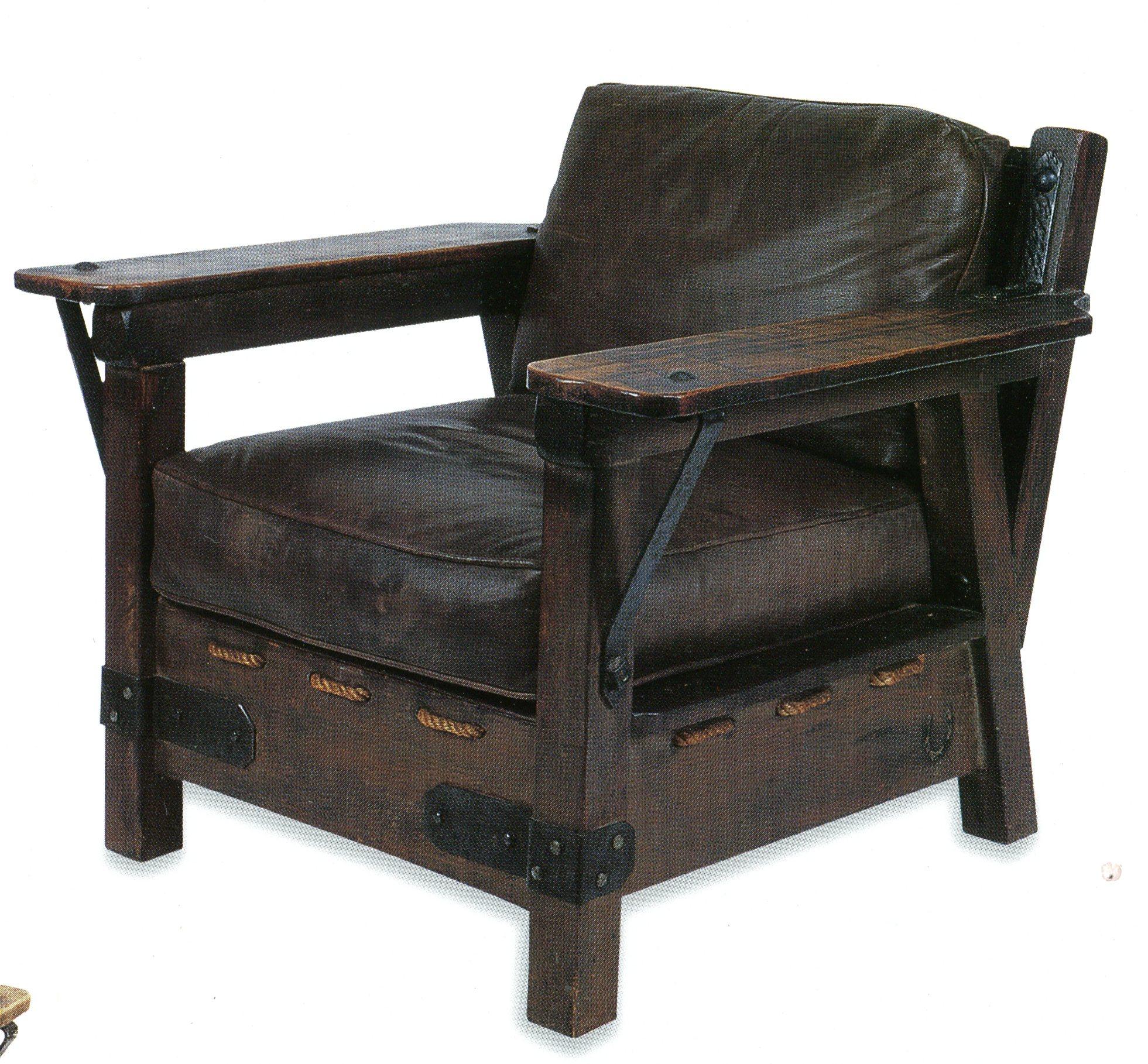 Monterey Club Chair 1930