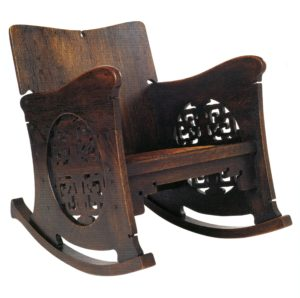 Charles Rohlfs rocking chair