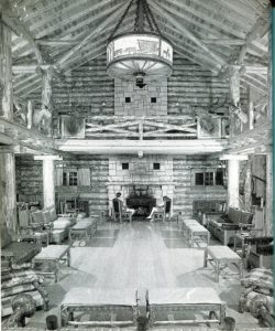 The Annenberg Lodge in South Dakota circa 1933