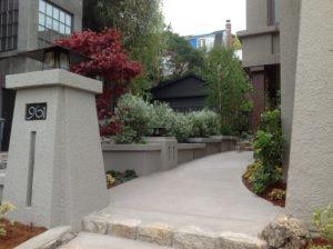 Address plaque and lantern for Pratt House, Jeff Grainger Arts and Crafts Studio