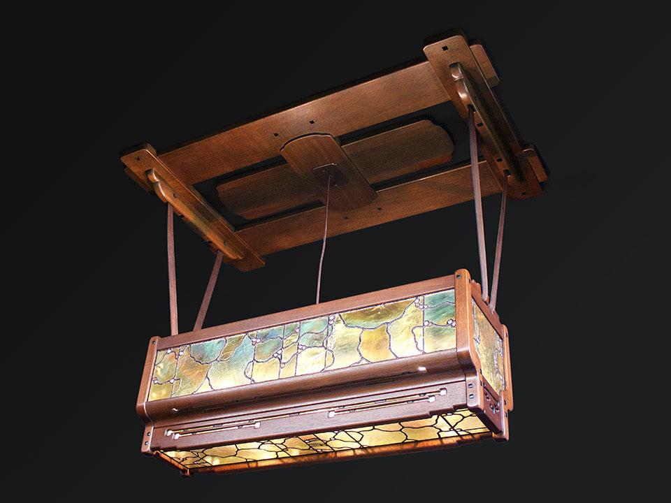 GAMBLE LIVING ROOM CEILING FIXTURE