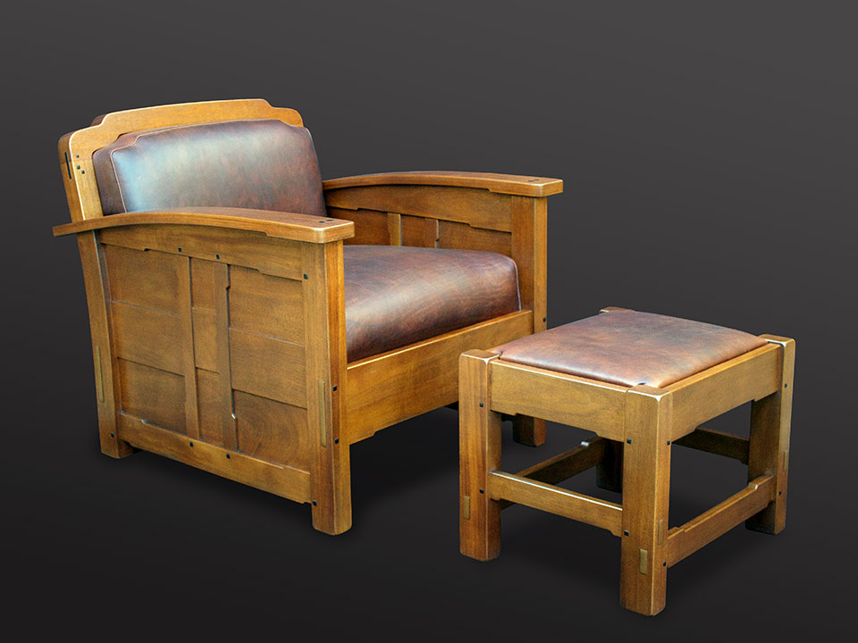 AGAJANIAN CLUB CHAIR