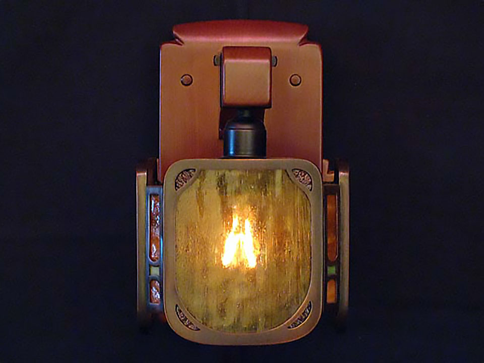 ROBINSON SCONCE - Front View.