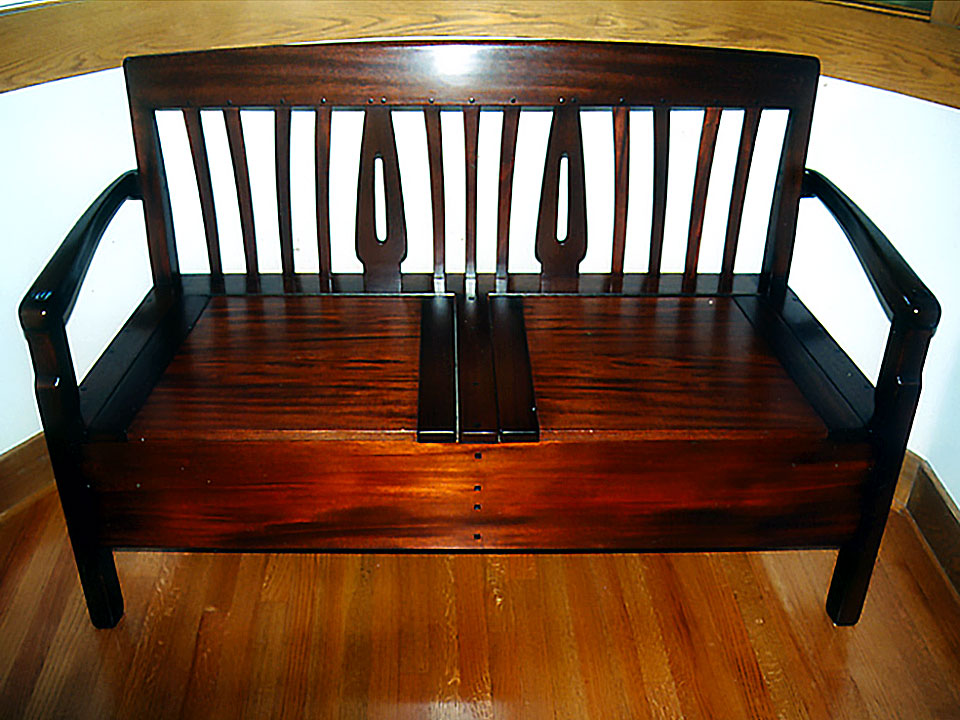 BLACKER ENTRY SHOE BENCH