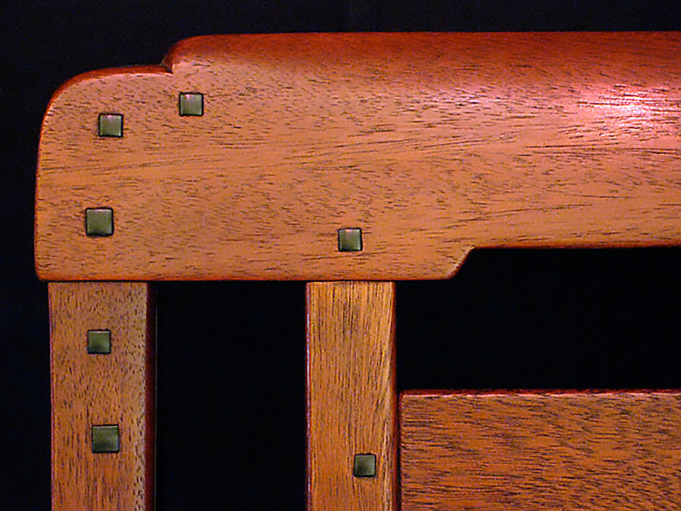 BLACKER DINING CHAIR DETAIL