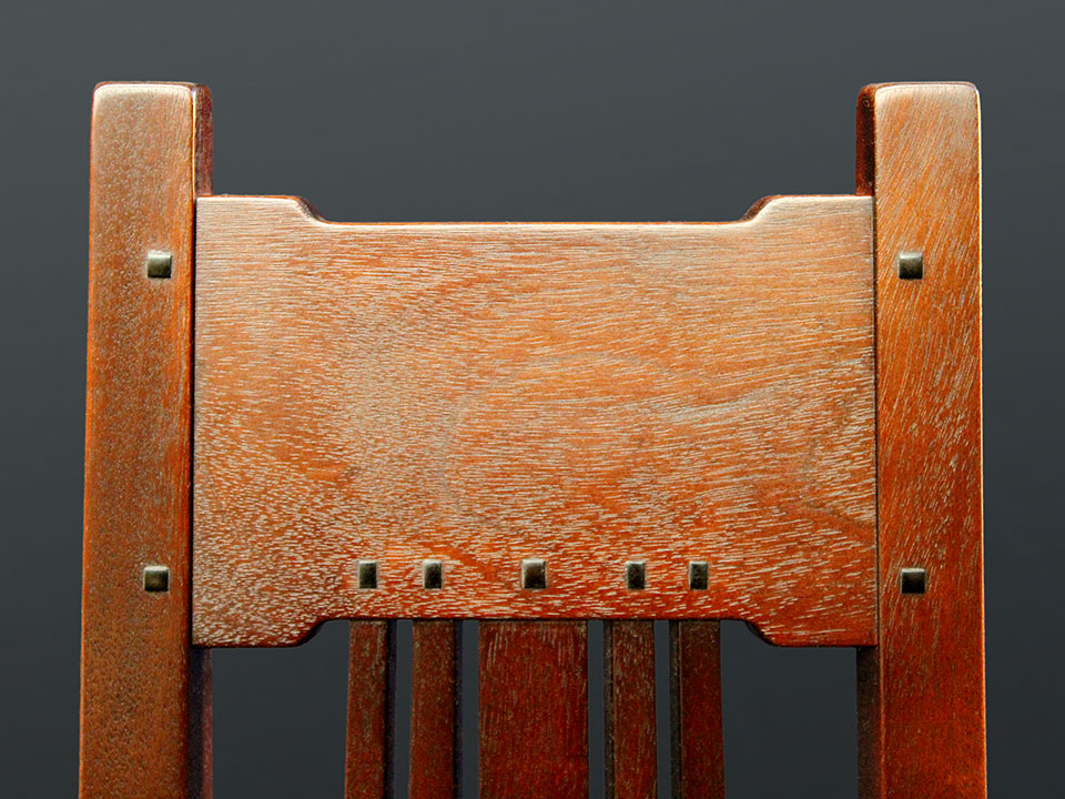 BOLTON ENTRY CHAIR DETAIL