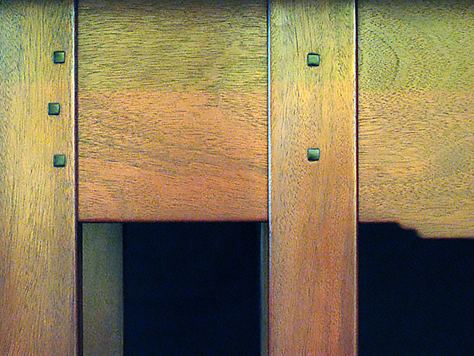 FORD DINING ROOM SERVING TABLE DETAIL