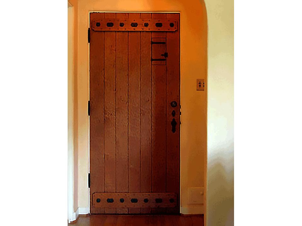 GARFIELD FRONT ENTRY DOOR INSIDE