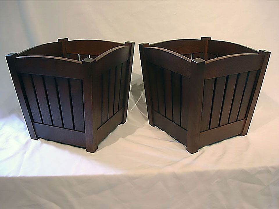STICKLEY WASTE BASKET