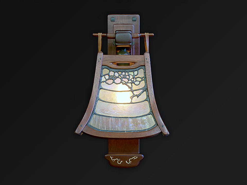 GAMBLE BEDROOM SCONCE