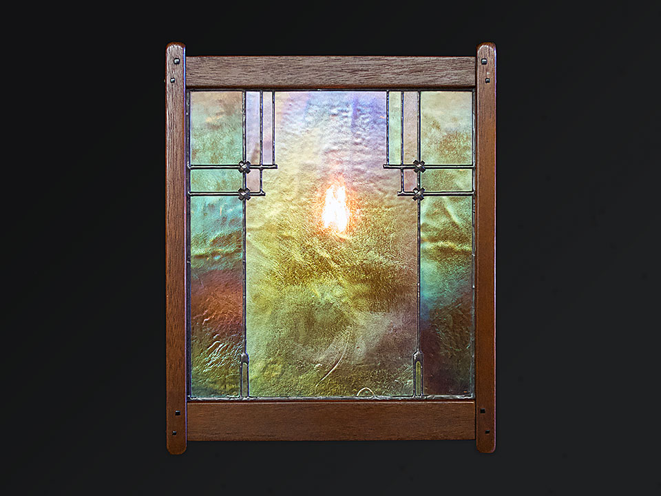CULBERTSON SCONCE 2 - Front View
